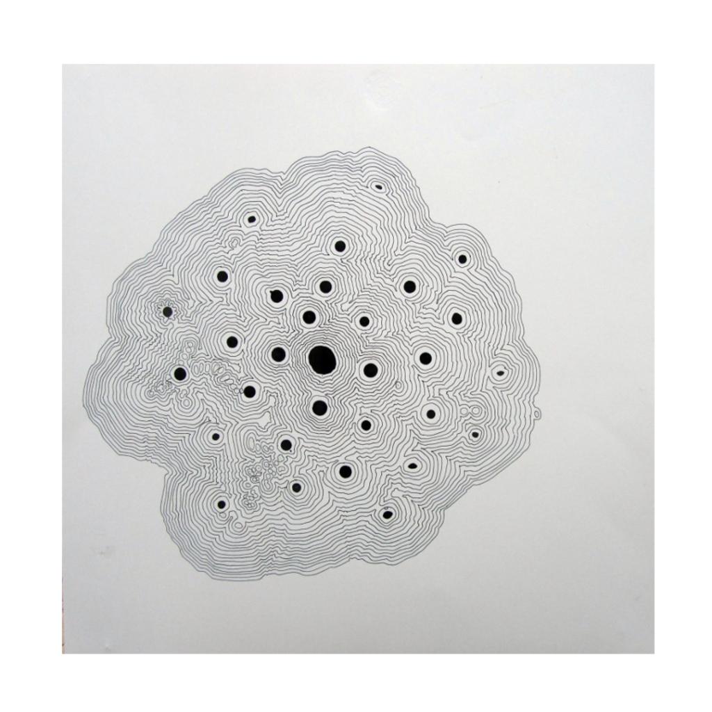 S/T. Pablo Guiot. Tinta sobre papel.